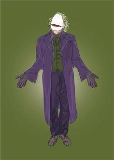 The joker- Dark knight rises digital illustration (Follow me on FB: RM Graphic Design)