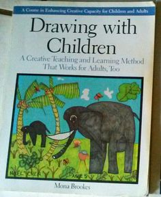 """Drawing With Children by Mona Brooks """"[Teachers] found that the drawing sessions were helping the children in subjects other than art. Reading levels jumped after teachers introduced visual perception warm ups and eye-relaxing techniques. Math abilities rose after children visually dealt with numbers of elements in their exercises and drawings. I now believe that """"the arts"""" are necessary to the development of a fully rounded education.""""  #thearts #charlottemason #abmlesideonline…"""