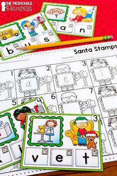 If you're looking for great Christmas literacy and math activities for kindergarten, this is it! Your Kinder classroom or homeschool students will get great practice with vowel sounds, practice making ten, making numbers, CVC words, BUMP! games, counting, graphing, 2D shapes, number order, ending sounds, sight words, rhyming, and MUCH MORE!