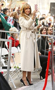 Lili Estefan attends the ceremony honoring Thalia with a Star on The Hollywood Walk of Fame held on December 5 2013 in Hollywood California
