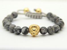 Gold Savannah Shambhalla Bracelet