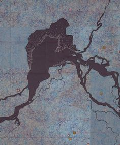 amazing map quilts from leah evans