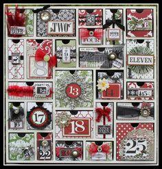 TERESA COLLINS DESIGN TEAM: Getting ready for Christmas...Advent Calendar.