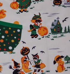 children's halloween apron by handyjan on Etsy