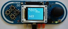 Arduino Esplora Auto LCD Orientation