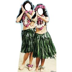 Hawaiian Hula Girls