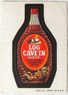 Log Cave In   OldBrochures.com
