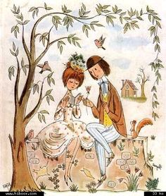 les amoureux de peynet illustrations - Google Search