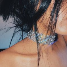 """Crystal"" choker amyshehab@aol.com to place your order ✨✨✨"