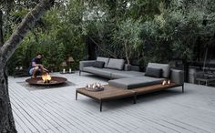 Grid modular outdoor sofa by Cosh Living – Selector