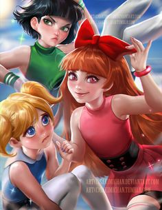 Powerpuff girls - sakimichan