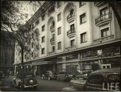 "Bucharest photos from the first decades of the century - mostly from the interwar period (between the two World Wars). ♦ The end of ""Little Paris"" (click photo) ♦ Hotels In Romania, Visit Romania, Old Pictures, Old Photos, Fort Peck Dam, Margaret Bourke White, Little Paris, Bucharest Romania, Palace Hotel"