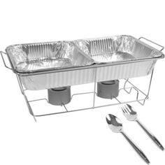 $12.99 for everything you need! Chafing Dish Buffet Set 8pc - Party City