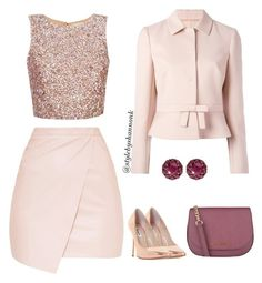 """""""women's fashion"""" by style-by-shannon-leeper ❤ liked on Polyvore featuring RED Valentino, Dune, MICHAEL Michael Kors and Color My Life"""