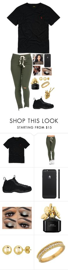 """""""I ain't gon lie I'm a little shmizz"""" by swaggyrl ❤ liked on Polyvore featuring Ralph Lauren, NIKE, Marc Jacobs, BERRICLE and Lord & Taylor"""
