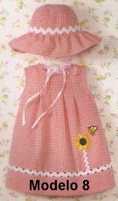 BEBE Toddler Sun Hat, Toddler Dress, Little Girl Dresses, Girls Dresses, Cute Fashion, Girl Fashion, Baby Dress Design, Baby Dress Patterns, Baby Sewing