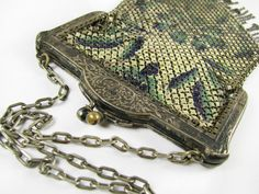 Antique Mandalian Purse Metal Mesh and Silver For by MyChouChou, $35.00