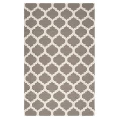 Found it at Wayfair - Frontier Moroccan Taupe & White Rug