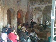 All'interno della maestosa chiesa di Lama d'Antico, la Serena in Tour! #concerti #chiesa #weareinpuglia