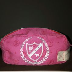 PINK Victoria Secret  makeup bag Small one handle cotton feel PINK Victoria's Secret Bags Cosmetic Bags & Cases