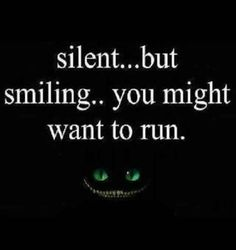 It's strange, but true! In private, an INTJ will smile at some amusement. But in public, if an INTJ smiles, especially when silent and a steady gaze... It's really NOT usually a good thing!