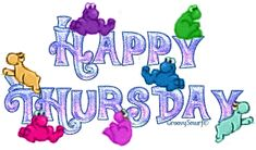 Happy Thursday Graphic