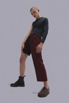 Kito shot and styled by Filip Custic for PITCH zine Space Fashion, Punk Fashion, Fashion Art, High Fashion, Fashion Design, Urban Outfits, Cool Outfits, Fashion Poses, Fashion Outfits