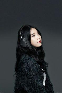 K-Pop Wallpapers {Complete} - IU Wallpapers Girl Photo Poses, Girl Photos, K Pop, Korean Girl, Asian Girl, Dream Cast, Girl With Headphones, Korean Actresses, Korean Celebrities