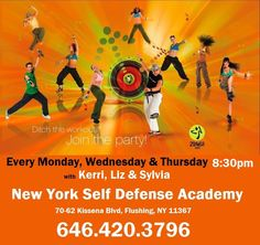 My friend, Elizabeth Allen, has started teaching ZUMBA classes in Queens, NY. Join her!!!