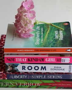 Summer holiday reading list 2016, books I enjoyed over the summer, book reviews, cookery, sewing, novels,