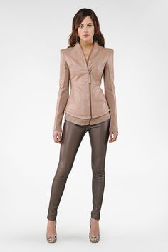 OMG - nothing I need, but have to have this luxe leather number by Mackage .