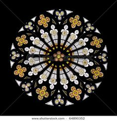 Gothic rose window