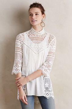 Laced Maris Tunic #anthropologie