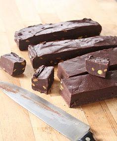 Kahlua and dark chocolate fudge...OMG!