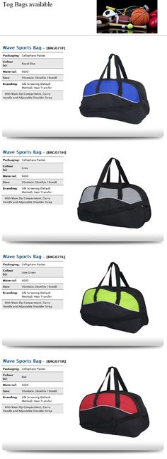 Tog Bags | Assorted Colours