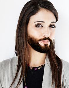 "Terez ""Short Boxed Beard"""
