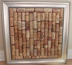 another way to display wine corks....i have so many must do something with them soon!!