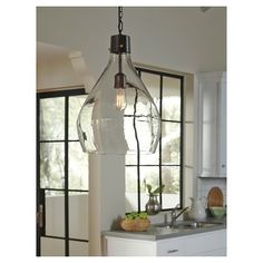 Avalbane Pendant Light Clear/Gray - Signature Design by Ashley : Target