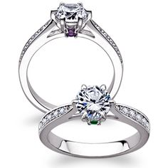 Buy SECRET EXPRESSIONS Sterling Silver Hidden Birthstone & CZ Promise Ring at Limoges