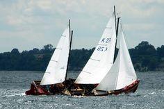 Rostock Sailing: Deutscher Meister im Kuttersegeln. faire légende