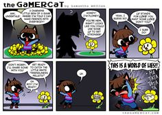 The GaMERCaT - Underlying Intent (Face it, we all thought this when we first played Undertale)