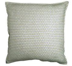 20x20 cypress checker pure light weight linen pillow