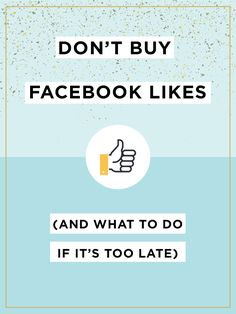"""Why Pages who bought Likes are hurting in 2016.   With Facebook organic reach being what it is, brands that bought Facebook Likes back when """"fan count"""" numbers were extremely popular are now hurting much more than those who chose the slow and steady route. Read what you can do to fix this problem. (This is super important even if you didn't buy fans, because I talk about how to increase organic reach!)"""