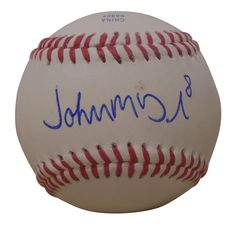 Cleveland Indians John McDonald signed Rawlings ROLB leather baseball w/ proof photo.  Proof photo of John signing will be included with your purchase along with a COA issued from Southwestconnection-Memorabilia, guaranteeing the item to pass authentication services from PSA/DNA or JSA. Free USPS shipping. www.AutographedwithProof.com is your one stop for autographed collectibles from Cleveland sports teams. Check back with us often, as we are always obtaining new items.