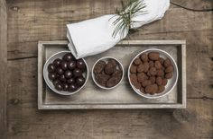 Dragées: Miracle cure for festive stress - no prescription required. There's no life without chocolate. Kakao, Truffles, The Cure, Treats, Chocolate, Festive, Desserts, Christmas, Life