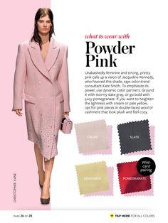 powder pink + cream/slate/lemonade/pomegranate