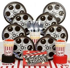 Movie Night Birthday Party Ideas and Games