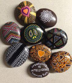 Painted stones SNS DESIGNS