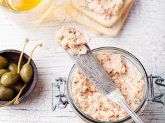 thon, carré frais, citron, fromage blanc, poivre, sel, basilic, ciboulette