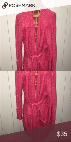 Victoria's Secret Robe Hot pink sparkled robe, lightly worn! Intimates & Sleepwear Robes